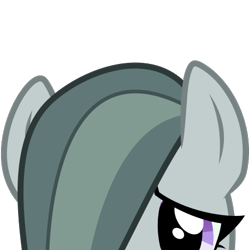 Size: 375x375 | Tagged: safe, artist:szafir87, artist:the smiling pony, marble pie, earth pony, pony, derpibooru, derpibooru badge, female, mare, meta, simple background, solo, transparent background