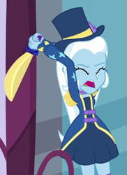 Size: 397x544 | Tagged: safe, screencap, trixie, equestria girls, street magic with trixie, spoiler:eqg series (season 2), cropped