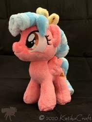 Size: 900x1190   Tagged: safe, artist:ketika, cozy glow, pony, irl, photo, plushie, solo