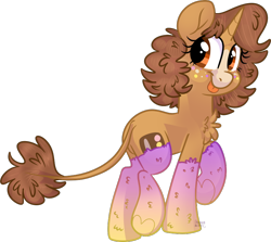 Size: 806x718   Tagged: safe, artist:maximumbark, oc, pony, unicorn, brown eyes, clothes, cute, cutie mark, female, freckles, mare, simple background, smiling, smiling at you, socks, solo, tongue out, transparent background, underhoof