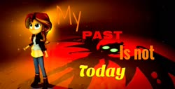 Size: 1920x972   Tagged: safe, sunset shimmer, equestria girls, my past is not today, 3d