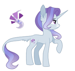 Size: 1989x1877 | Tagged: safe, artist:koloredkat, oc, oc only, oc:starshine, pony, unicorn, cutie mark, ear fluff, female, leonine tail, magical lesbian spawn, mare, offspring, parent:starlight glimmer, parent:trixie, parents:startrix, raised hoof, simple background, solo, transparent background