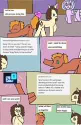 Size: 1243x1901 | Tagged: safe, oc, earth pony, pegasus, pony, unicorn, comic, tumblr