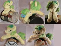 Size: 1280x973 | Tagged: safe, artist:bastler, oc, oc only, oc:nettle vienna, earth pony, pony, female, irl, mare, photo, plushie, sleeping