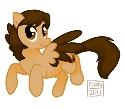 Size: 591x518 | Tagged: safe, artist:strange-thingshappen, oc, oc:cookie crumble, pegasus, pony, female, mare, simple background, solo, transparent background