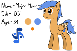 Size: 2050x1372 | Tagged: safe, artist:cloudy95, oc, oc:major minor, pegasus, pony, male, simple background, solo, stallion, transparent background