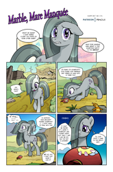 Size: 1268x1920 | Tagged: safe, artist:pencils, marble pie, earth pony, pony, comic:marble mare manquee, coin purse, comic, female, fourth wall, solo