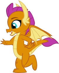 Size: 4806x5982 | Tagged: safe, artist:memnoch, smolder, dragon, uprooted, spoiler:s09e03, simple background, solo, transparent background, vector