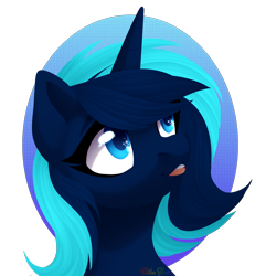 Size: 2260x2344 | Tagged: safe, artist:nika-rain, oc, oc only, pony, unicorn, bust, commission, cute, female, portrait, simple background, solo, transparent background