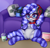 Size: 3000x2850 | Tagged: safe, artist:yutakira92, oc, oc only, oc:cinnabyte, earth pony, pony, clothes, coach, controller, curly mane, cute, featureless crotch, gaming, glasses, headphones, ocbetes, pillow, socks, solo, striped socks, ych result