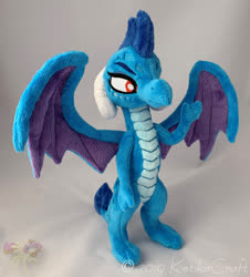 Size: 900x995 | Tagged: safe, artist:ketika, princess ember, dragon, irl, photo, plushie, solo