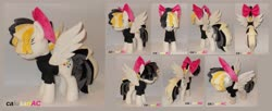 Size: 3280x1344 | Tagged: safe, artist:calusariac, songbird serenade, pony, my little pony: the movie, irl, photo, plushie, solo