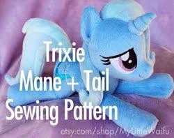 Size: 570x452   Tagged: safe, trixie, plushie