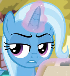 Size: 706x766 | Tagged: safe, screencap, trixie, student counsel, spoiler:s09e11, cropped