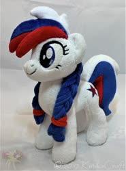 Size: 900x1218 | Tagged: safe, artist:ketika, oc, oc:marussia, pony, irl, nation ponies, photo, plushie, russia, solo