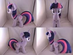 Size: 1597x1199 | Tagged: safe, artist:little-broy-peep, twilight sparkle, pony, irl, photo, plushie, solo