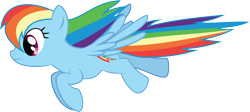 Size: 13239x5954 | Tagged: safe, artist:wissle, rainbow dash, pegasus, pony, friendship is magic, absurd resolution, female, flying, mare, simple background, solo, transparent background, vector