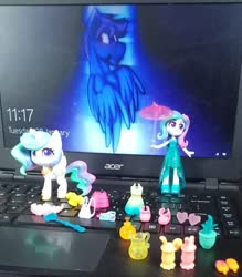 Size: 855x974 | Tagged: safe, princess celestia, equestria girls, my little pony: pony life, irl, photo, principal celestia, toy