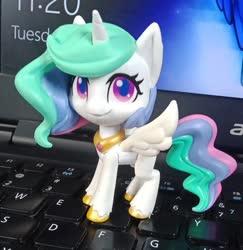 Size: 705x726   Tagged: safe, princess celestia, my little pony: pony life, irl, photo, toy