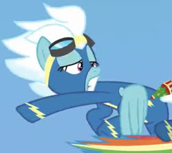 Size: 629x559 | Tagged: safe, screencap, fleetfoot, pegasus, pony, parental glideance, faic