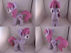 Size: 1597x1199 | Tagged: safe, artist:little-broy-peep, berry punch, berryshine, earth pony, pony, irl, lidded eyes, looking at you, photo, plushie, solo
