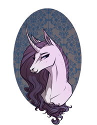 Size: 549x706 | Tagged: safe, artist:28gooddays, rarity, pony, unicorn, bust, curved horn, ear fluff, ear tufts, female, horn, looking at you, mare, portrait, profile, simple background, solo, transparent background