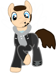 Size: 473x617 | Tagged: safe, artist:kayman13, pony, base used, beard, button, buzz cut, clothes, facial hair, hair, hoodie, jack rourke, jacket, looking at you, male, need for speed, need for speed the run, pants, ponified, shirt, shoes, simple background, smiling, sneakers, stallion, transparent background, undershirt