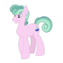 Size: 1280x1280 | Tagged: safe, artist:thr3eguess3s, oc, oc only, oc:tropical oasis, earth pony, pony, cutie mark, magical lesbian spawn, male, offspring, parent:fluttershy, parent:rarity, parents:flarity, simple background, solo, stallion, transparent background