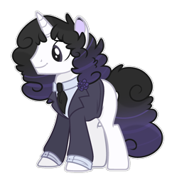 Size: 1024x1028 | Tagged: safe, artist:chococolte, oc, oc:pelo, pony, unicorn, base used, clothes, male, simple background, solo, stallion, suit, transparent background