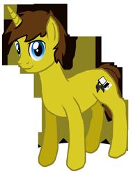 Size: 1448x1900 | Tagged: safe, artist:crisostomo-ibarra, oc, oc only, oc:cyber gamer, pony, unicorn, 2020 community collab, derpibooru community collaboration, male, simple background, solo, stallion, transparent background