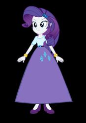 Size: 638x914 | Tagged: safe, alternate version, artist:cartoonmasterv3, rarity, equestria girls, alternate universe, clothes, long skirt, skirt, solo, vector
