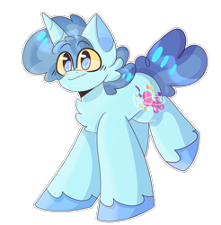 Size: 3800x3864   Tagged: safe, artist:cattisshot, party favor, pony, unicorn, chest fluff, cute, ear fluff, favorbetes, high res, male, simple background, solo, stallion, transparent background, unshorn fetlocks