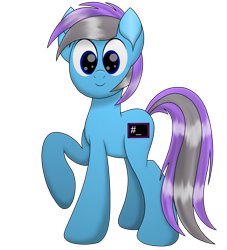 Size: 2100x2311 | Tagged: safe, artist:thevintagepone, oc, oc:thevintagepone, earth pony, pony, 2020 community collab, derpibooru community collaboration, looking at you, simple background, solo, transparent background