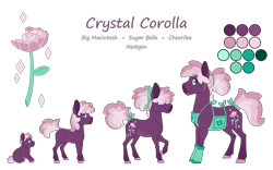 Size: 4000x2500 | Tagged: safe, artist:jackiebloom, oc, oc only, oc:crystal corolla, earth pony, pony, apron, baby, baby pony, clothes, colt, high res, magical lesbian spawn, male, offspring, parent:cheerilee, parent:sugar belle, parents:sugarlee, simple background, solo, stallion, transparent background