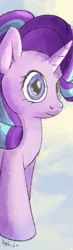 Size: 245x844 | Tagged: safe, artist:yashn37, starlight glimmer, pony, unicorn, bookmark, solo