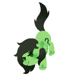 Size: 850x900 | Tagged: safe, artist:fannytastical, oc, oc only, oc:filly anon, earth pony, female, filly, simple background, solo, transparent background
