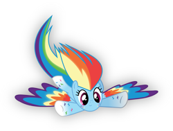 Size: 1196x904   Tagged: safe, artist:lincolnbrewsterfan, derpibooru exclusive, rainbow dash, pegasus, pony, .svg available, archive, female, rainbow power, rainbow power-ified, simple background, solo, special wings, svg, transparent background, vector, vector trace