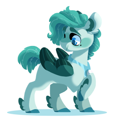 Size: 1600x1683 | Tagged: safe, artist:torusthescribe, oc, oc:beauregard, hippogriff, hybrid, pony, feathered fetlocks, interspecies offspring, offspring, parent:rarity, parents:canon x oc, simple background, solo, transparent background