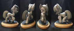 Size: 4096x1714 | Tagged: safe, artist:h1ppezz, marble pie, earth pony, pony, craft, female, irl, mare, photo, sculpture, solo, walking