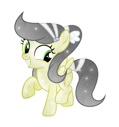 Size: 1005x1065 | Tagged: safe, artist:darbypop1, oc, oc only, oc:irene sky, crystal pony, pegasus, pony, crystallized, female, filly, simple background, solo, transparent background