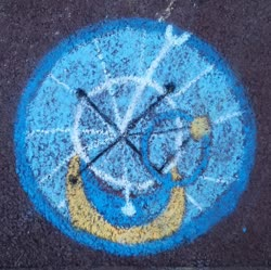 Size: 1024x1019   Tagged: safe, artist:themisto97, oc, oc:miss libussa, chalk, chalk drawing, cutie mark, cutie mark only, czequestria, czequestria 2019, no pony, photo, street art, traditional art