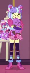 Size: 186x453 | Tagged: safe, princess thunder guts, supernova zap, equestria girls, equestria girls series, lost and pound, spoiler:eqg series (season 2), cropped, lost and pound: rarity, su-z