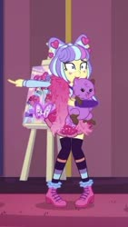 Size: 281x499 | Tagged: safe, princess thunder guts, supernova zap, equestria girls, equestria girls series, lost and pound, spoiler:eqg series (season 2), cropped, lost and pound: rarity, su-z