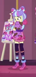 Size: 230x491 | Tagged: safe, princess thunder guts, supernova zap, dog, equestria girls, equestria girls series, lost and pound, spoiler:eqg series (season 2), cropped, cute, lost and pound: rarity, su-z