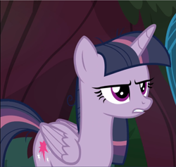 Size: 991x939 | Tagged: safe, screencap, mean twilight sparkle, the mean 6, cropped, solo, unamused
