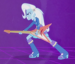 Size: 348x295 | Tagged: safe, trixie, equestria girls, guitar centered, rainbow rocks, cropped