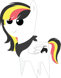 Size: 4532x5740 | Tagged: safe, artist:cosmiceclipsed, oc, oc only, oc:reddy, pony, bandana, pointy ponies, simple background, transparent background