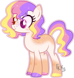 Size: 1968x2060   Tagged: safe, artist:kurosawakuro, oc, earth pony, pony, base used, body freckles, colored hooves, female, freckles, heterochromia, mare, outline, simple background, solo, transparent background