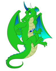 Size: 600x760 | Tagged: safe, artist:queencold, oc, oc only, oc:crystal scale, dragon, commission, gem, male, simple background, solo, spirit, transparent background