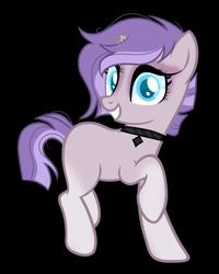 Size: 1464x1828   Tagged: safe, artist:rose-moonlightowo, oc, pony, unicorn, broken horn, female, horn, mare, parents:tempestshimmer, simple background, solo, transparent background